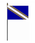Champagne-Ardenne Hand Flag - Small.